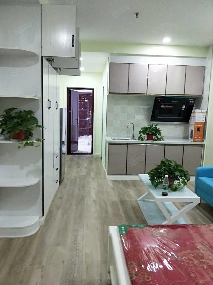 可短租盛世国际高端公寓有暖气精装修全新家俱家电拎包入住其实图