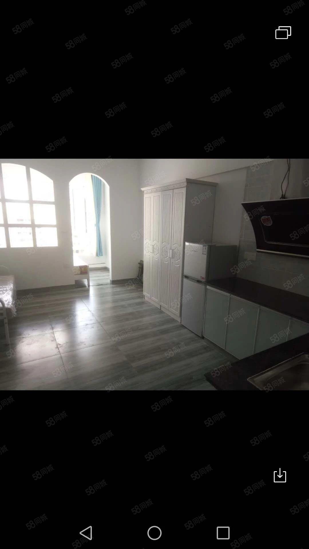 1000元便宜出租,川硐麒龙国际小区单身公寓一室一厨一卫空调