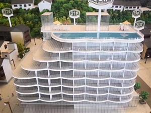 广龙小镇一线湖景精装公寓带12年增值托管一室一厅一卫