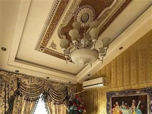 实图欧式宫廷风格与空中花园融为一体100万豪华装修家具家电