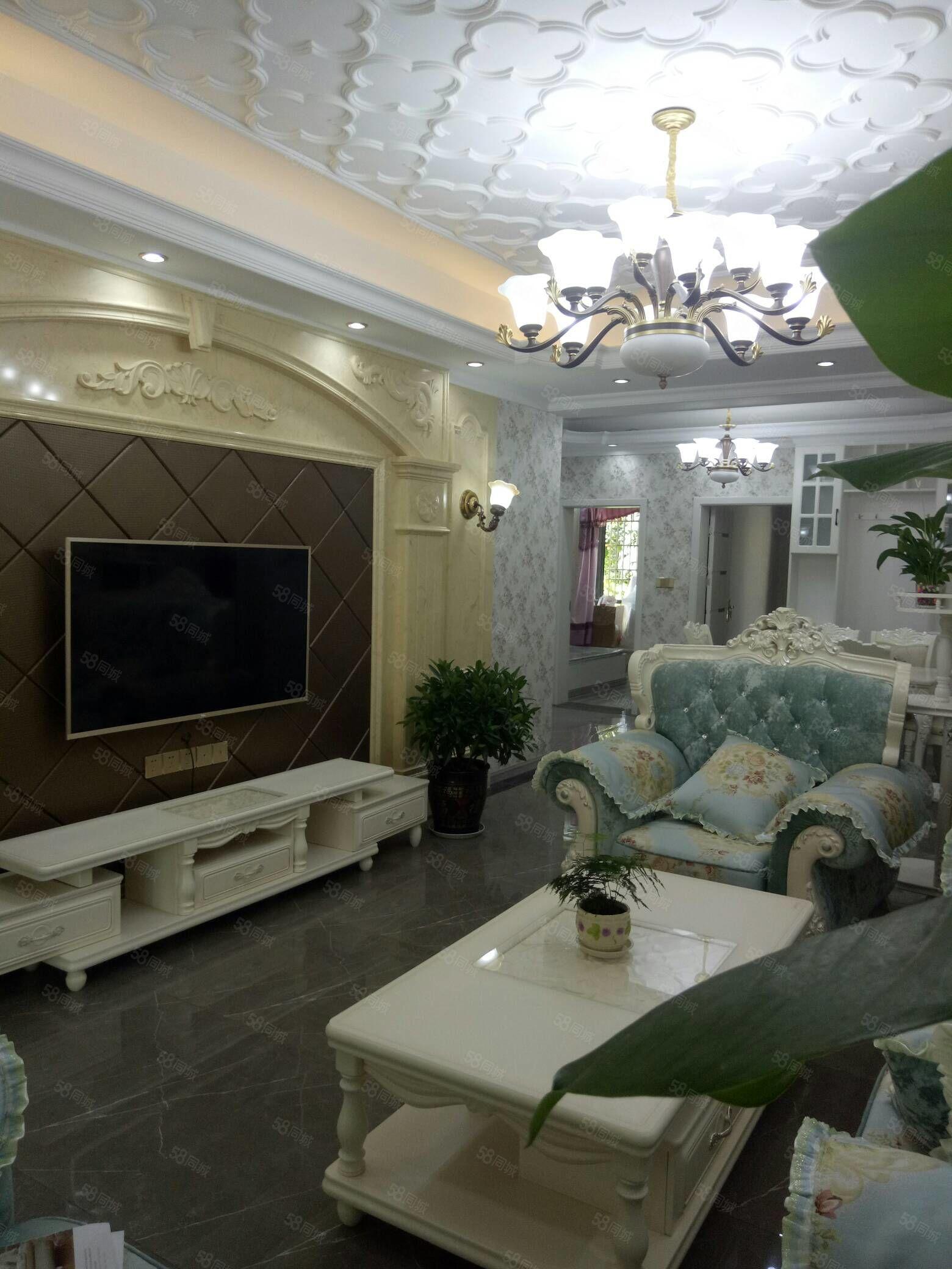 安居主城区精装3室,中央空调豪华版,直接拎包入住