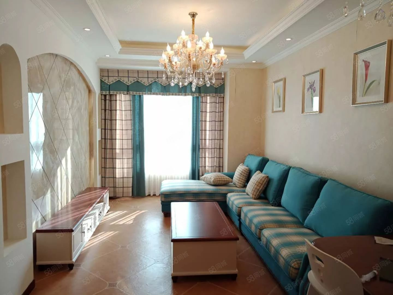 壹街区紫薇苑人工湖旁一梯两户精装套二赠送家具可按揭