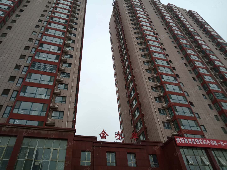 出租金水岸电梯8楼,116平3室精装,有储,有暖气,随时入户