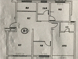 康城府邸3室毛坯121平有9平储藏室76万