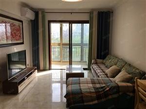 可短租城市海岸豪华温馨两房拎包入住在紫园长信海岸水城旁