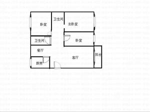 金苑小区中装大三房,新装为住,诚意卖105万,有钥匙随时看房