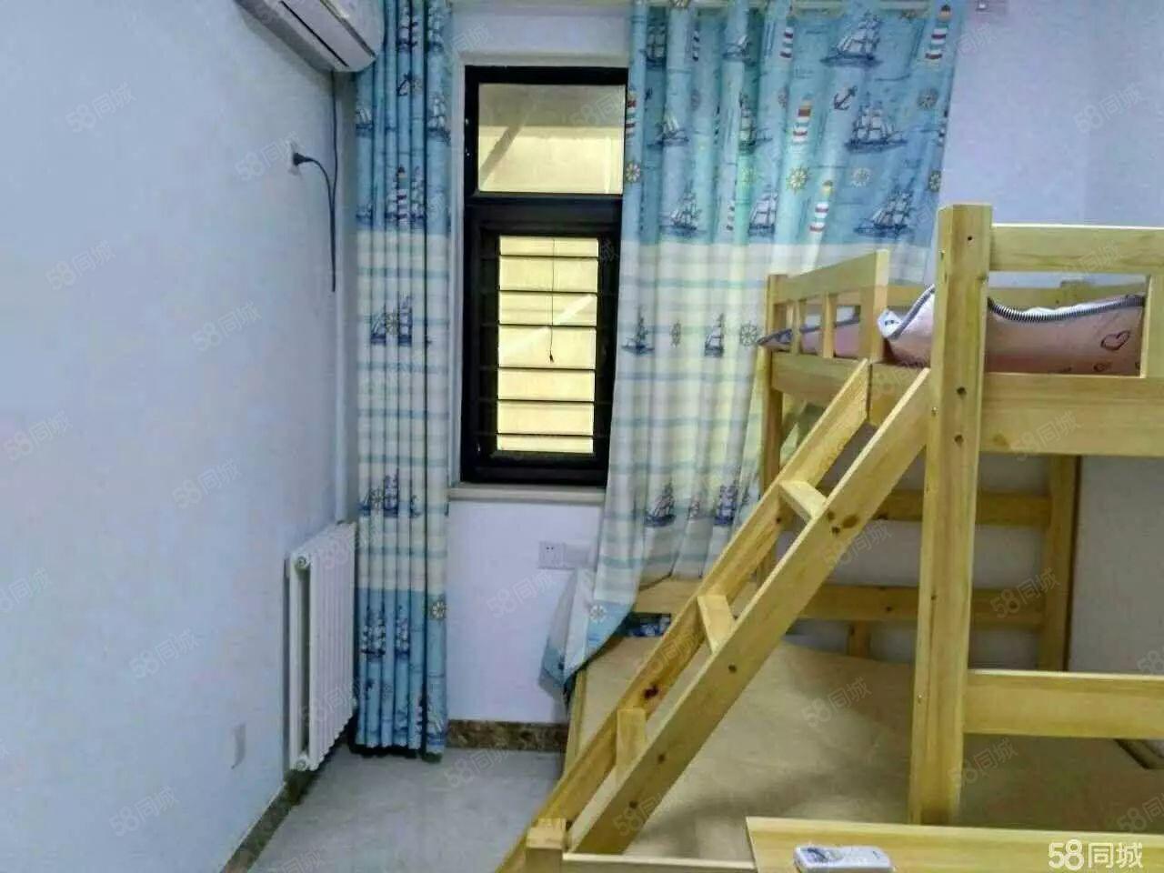 白祝福红城3室2厅小三房家具家电齐全拎包入住