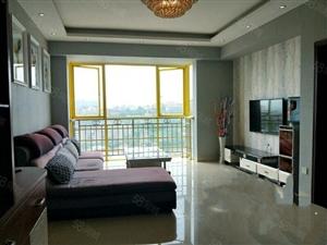 晏家湾嘉禾大厦20楼三室两厅109平米精装修家具家电全