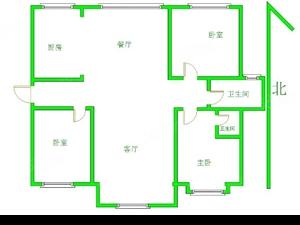 中山绿洲三室,现房,40万精装,小高层,有房本,可贷款!