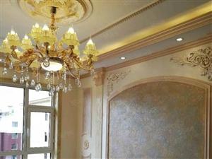 精装婚房,与凯成中学一墙之隔,欧式装修,走售楼处贷款