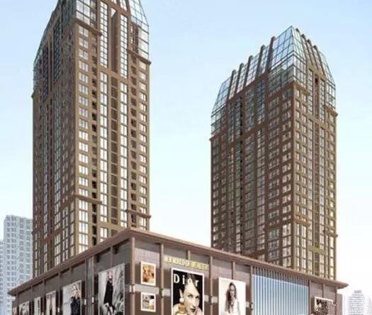 中央商务区可办公财富新天地3室2厅毛坯空房
