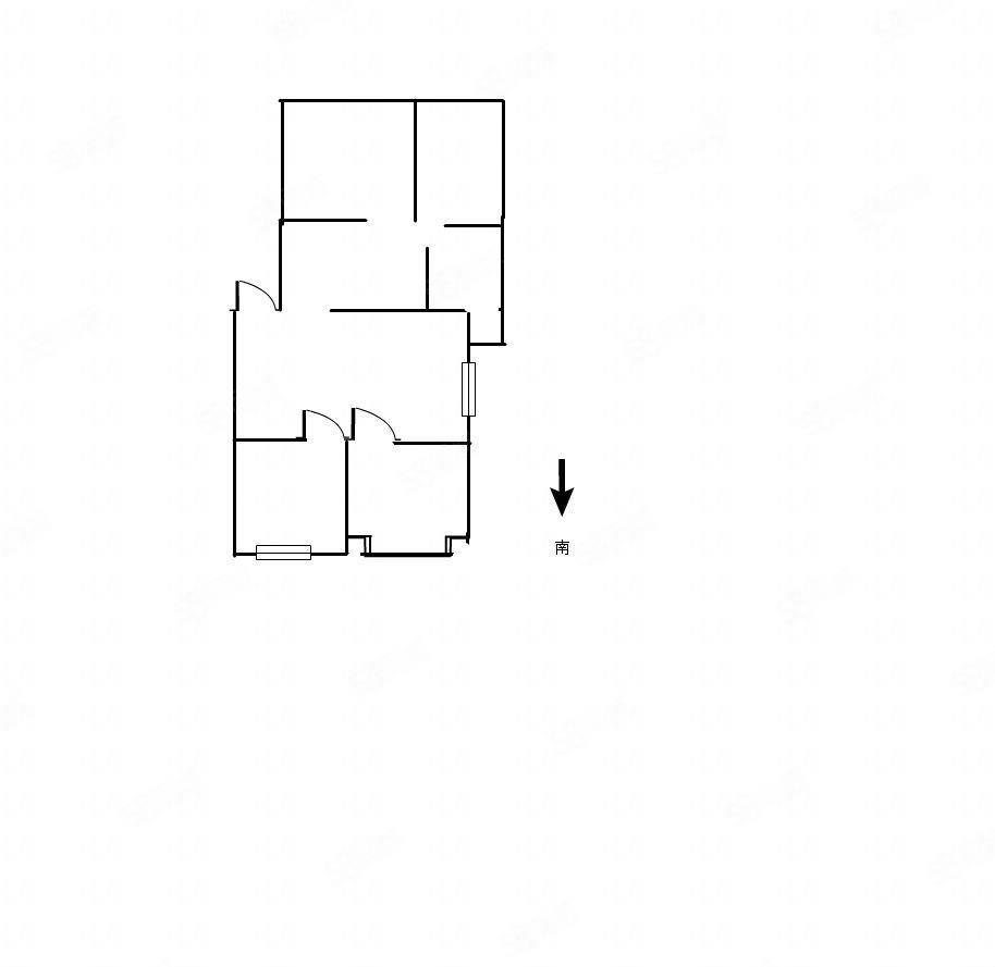 峰基庄园出租1300一月三室!家私齐全拎包入住!
