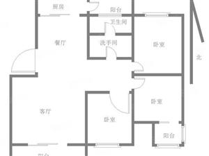 杨柳国际新城经典3室全明户型免税送20平储藏室一楼