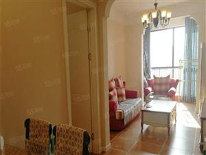 橡树玫瑰城一期精装修2房户型方正采光好无税产权清晰