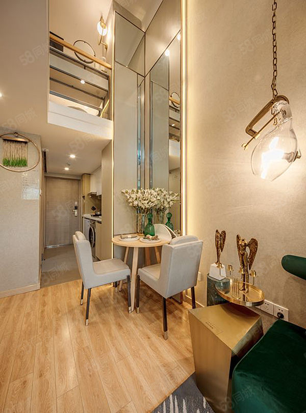 中央管辖航空港区5.09绝版层高住宅唯一双气公寓