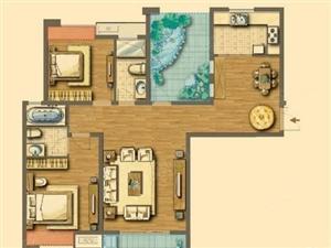 泰山现代城三居室带储藏间有证能分期
