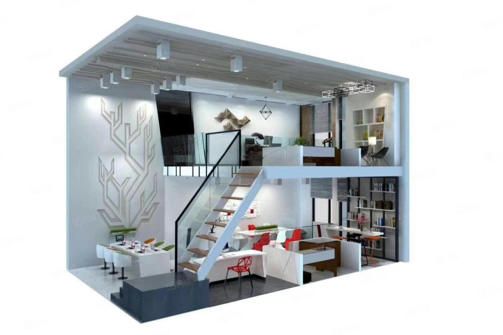 郑州市纯地铁口不到100米三万订高档LOFT公寓