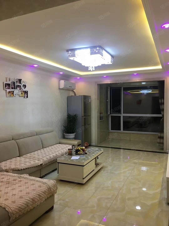 银河湾面积90平两室双阳卧售价52万房本满二精装修拎包入住
