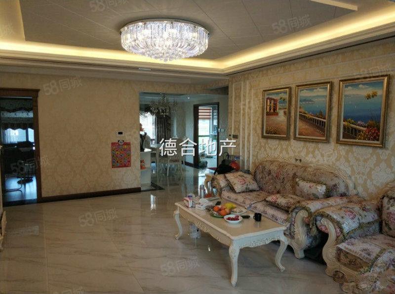 汉水名城阅府精装修,三室两厅两卫,带家具家电,带车位拎包入住