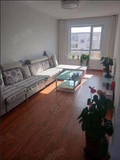 水木阳光90平精装修6楼,家具家电齐全包物业取暖