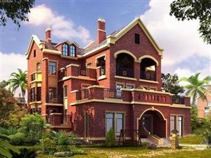 九州岛湖畔英式别墅送300平私家花园好房子一套就够工程抵款