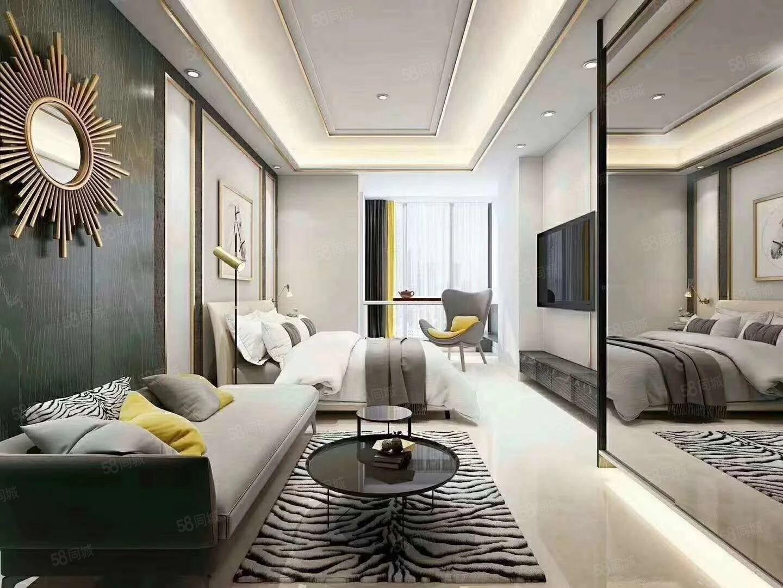 金茂古镇对面精装小公寓33平总价43万带超大露台可观雪景