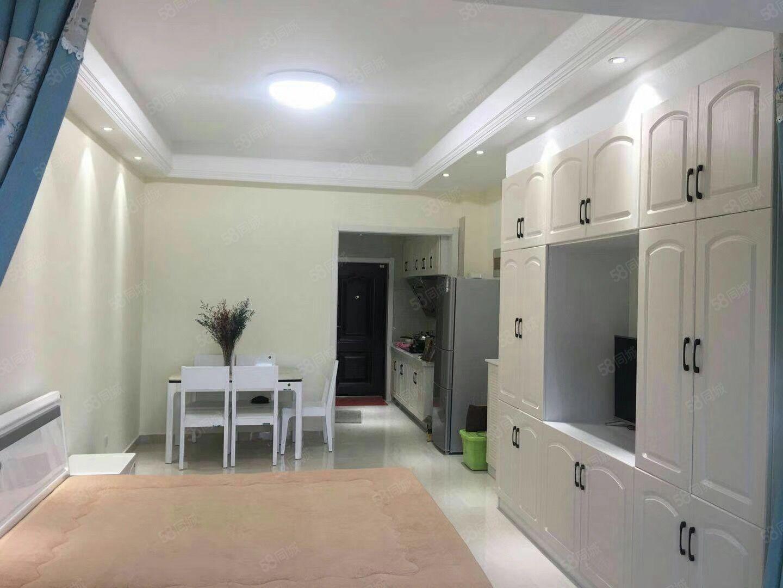 出租坎北滨河湾公寓一室一厅1100元/月拎包入住