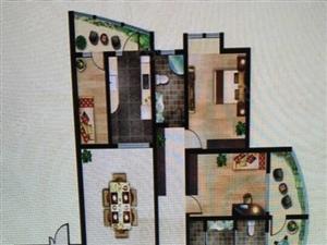 豪庭御都5室2厅3卫毛坯可改合同贷款看房方便