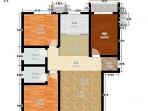 东山口,三室两厅两卫,户型合理,南北通透,有分证,仅售24万