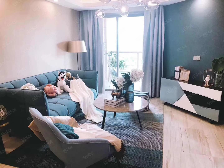 抚仙湖70年产权三面采光湖景公寓,大型游乐主题翡翠湾公寓