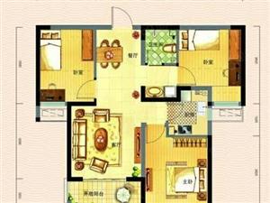 锦绣外滩精装房2室2厅南北通透带车位储藏室家具家电