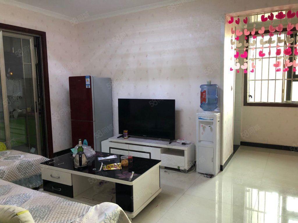 财富中心标准一室一厅一卫一厨贴壁纸两台空调团结路口
