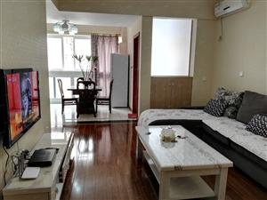 滨江国际《电梯》2室2厅精装家具家电全齐1600空调3台