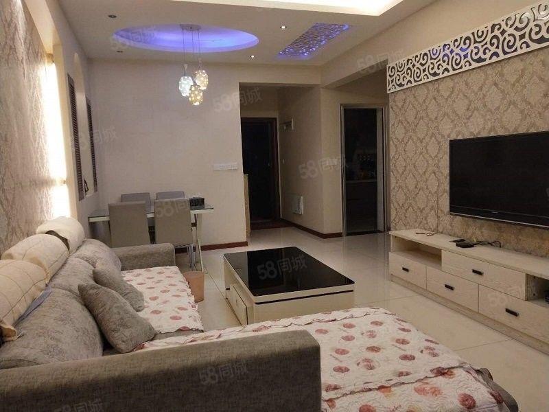 下江北太阳岛精装修,家具全齐,拎包入住,看房很方便!