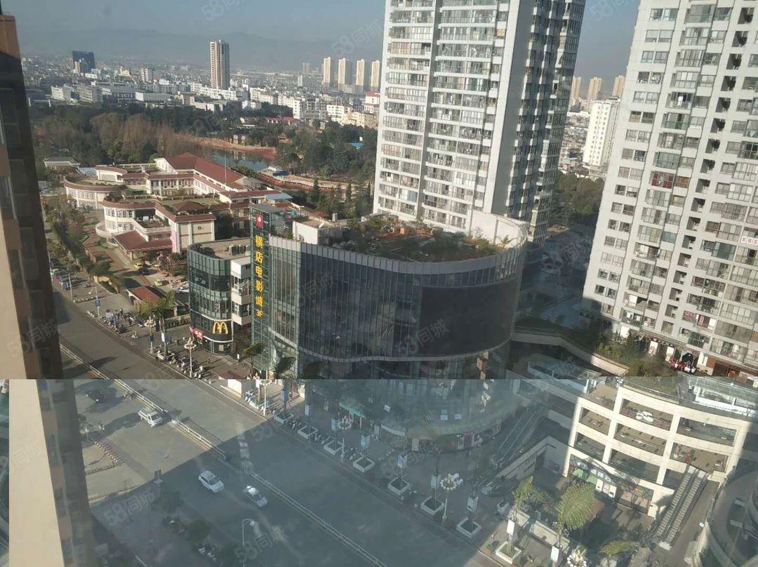 极中心对面庙街大厦,精装修两室,可以做办公,看房方便,
