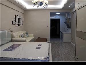 龙腾花园精装标准一房一厅单身公寓拎包入住