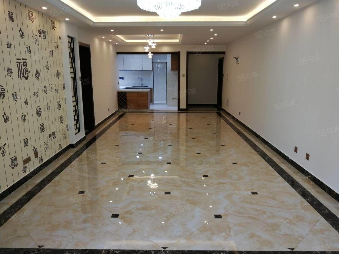 昆华苑一楼端头带前后花园全新中式精装160平4室南北通透诚售