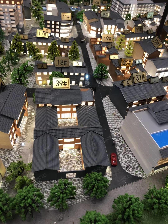 景区里的四合院,古风古韵,抚仙湖广龙小镇第一个国家一流特色