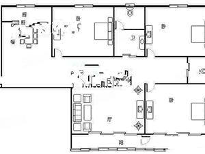 嘉豪国际简单装修的房子出租