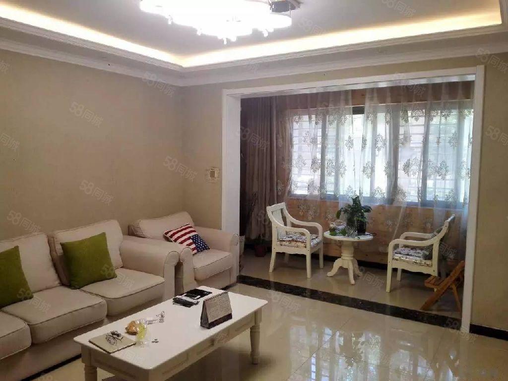 棉纺路方圆经纬精装两居室家电全新业主自住拎包入住
