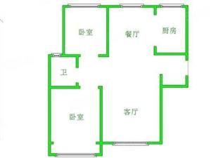 金屋五区,超便宜的房子,南北通透2居室精装修,仅此一套,急售
