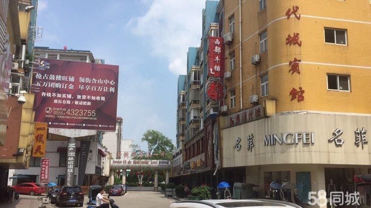 含山现代城2室2厅1卫城中心商业街环峰小学含山一中