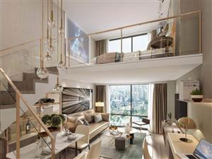 精装公寓投资必看租金高地段好150万平商业中心城