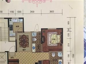 鸿鑫俊景3室2厅2卫(含车库储藏室)