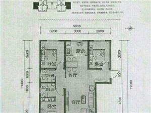定州中悦君庭3室2厅2卫