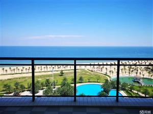 首付18万俯瞰美海滩十里银滩一线海景房月收租3500