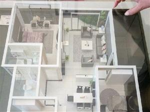 楼顶送一个房间加一块使用面积