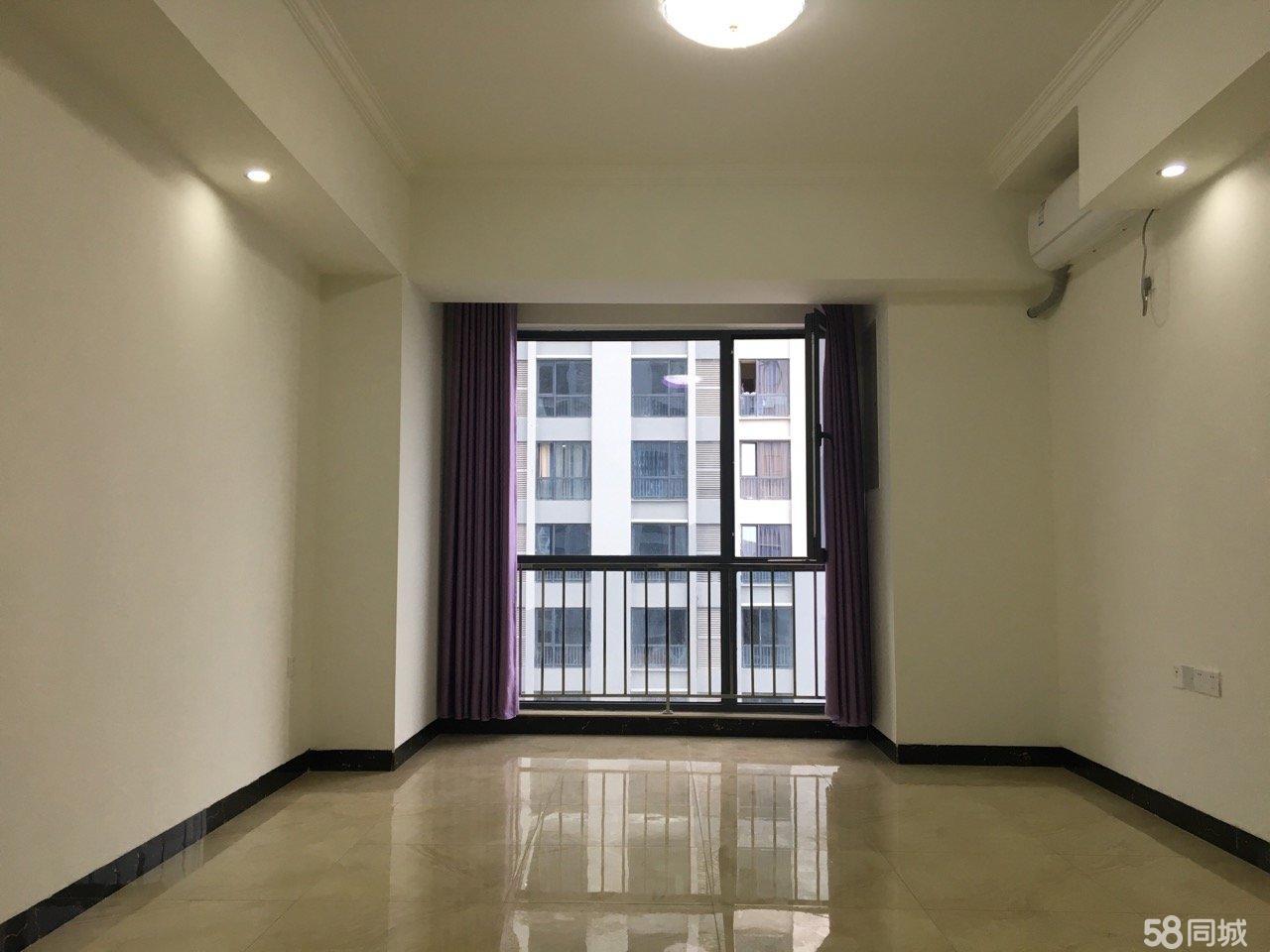 河东新区万达公寓1室1厅50平米精装修年付