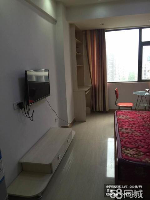 步行街香寓精�b公寓房一室一�d,拎包入住