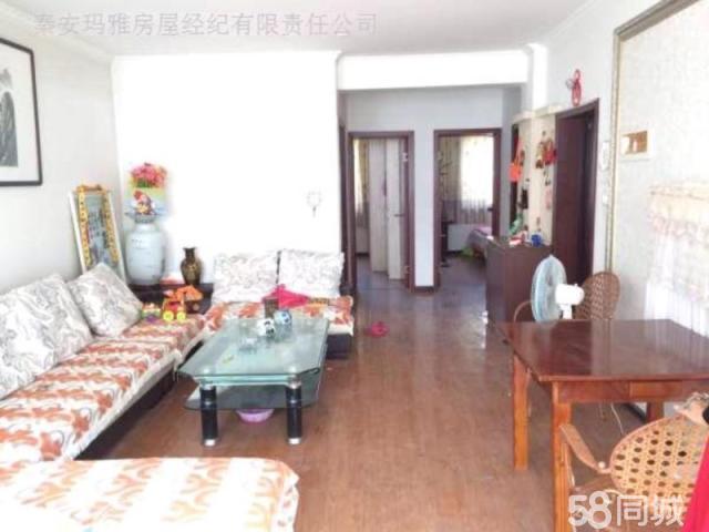 秦安虹景小区2室2厅1卫88.3�O